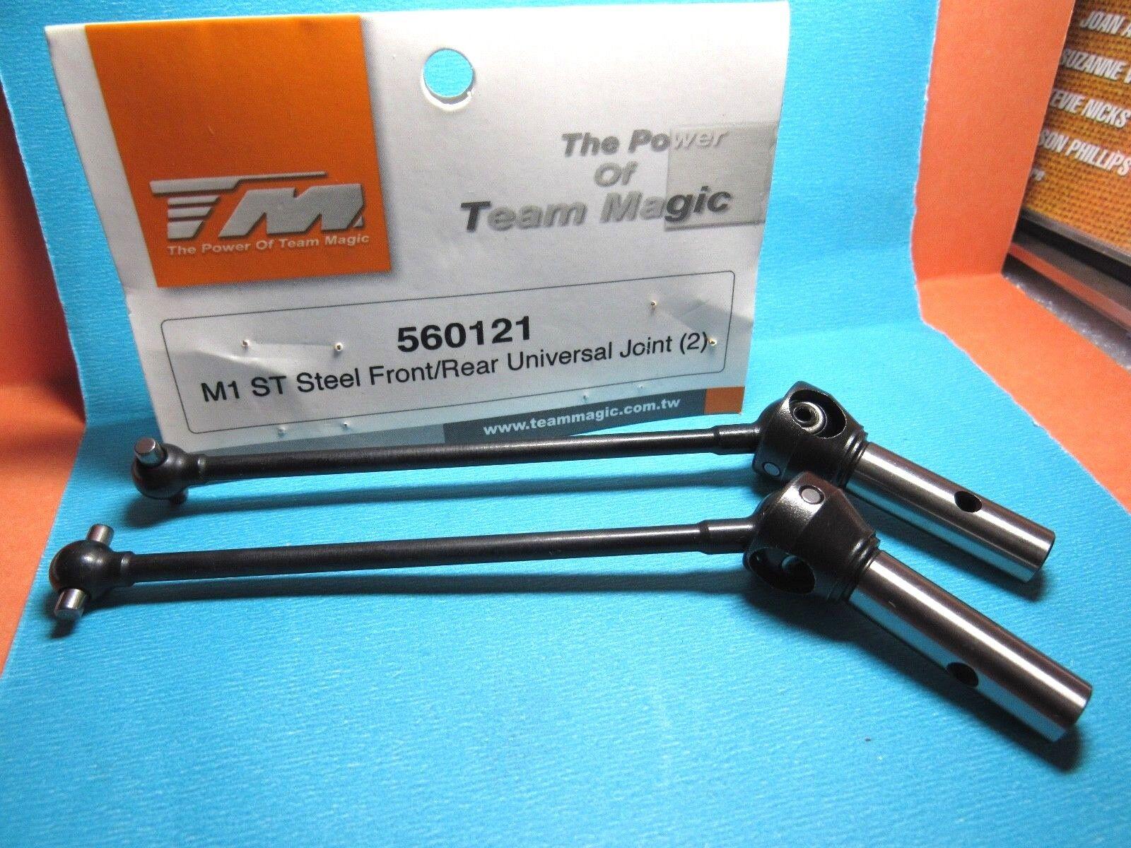 Team Magic 560121 M1 ST Steel Front Rear universal Joint 2pcs