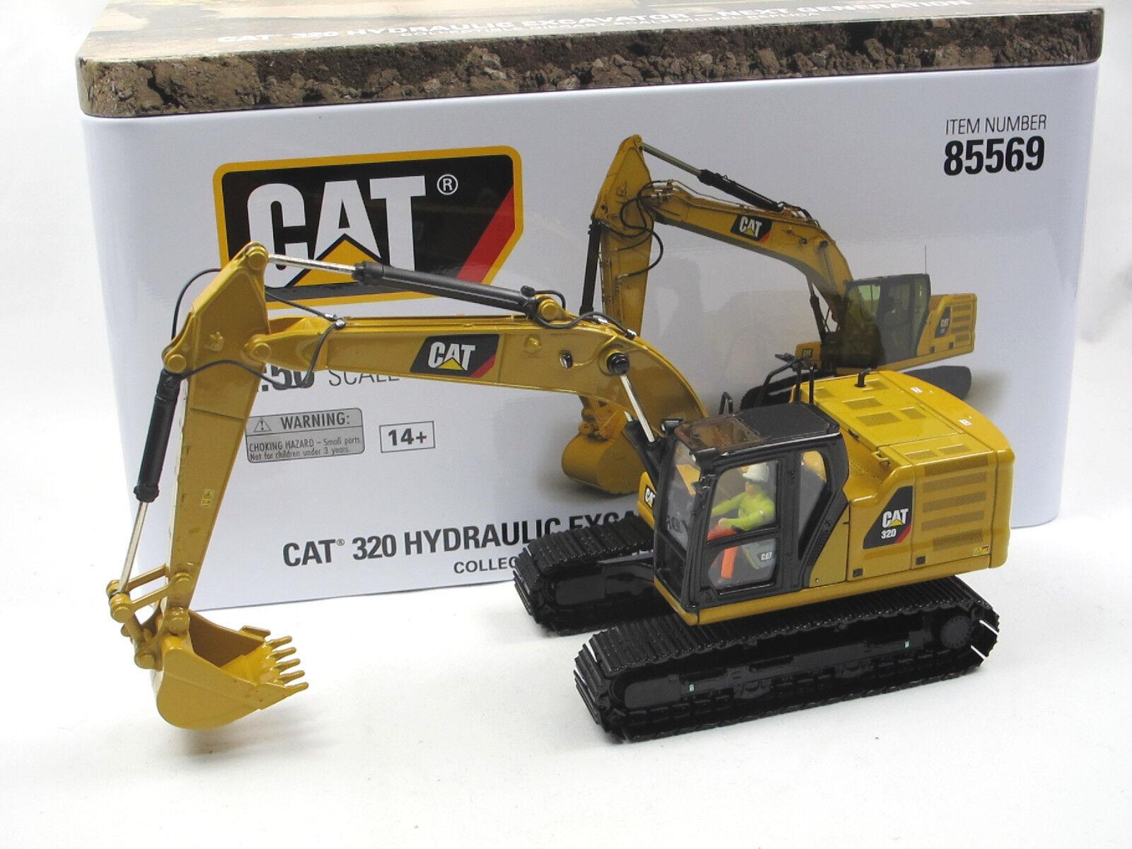 Diecast Masters 85569 CAT 320 Next Generation Raupenbagger Excavator 1 50 neu
