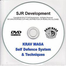 Ultimate Self Defence Training DVD KRAV MAGA Israeli IDF Commando Street Fighter