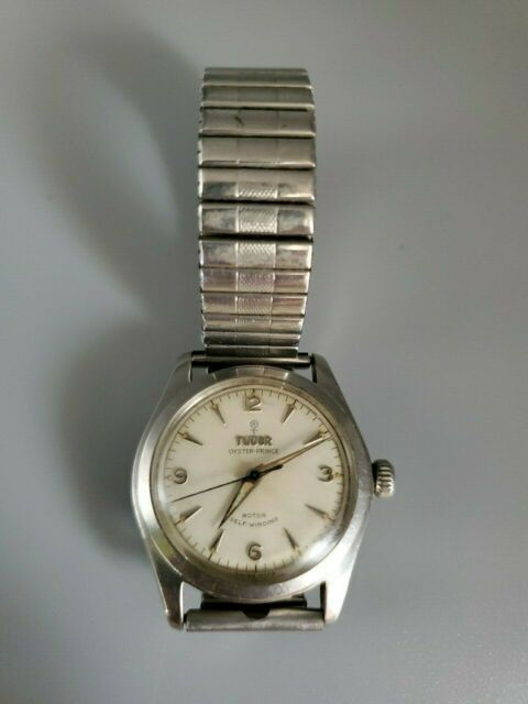 VINTAGE TUDOR STAINLESS OYSTER PRINCE MEN'S WATCH NEEDS WORK
