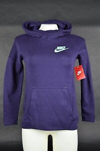 8d2569ab403b NWT  90 Nike Youth Sportswear Tech Fleece Hoodie 823582 524 Purple ...
