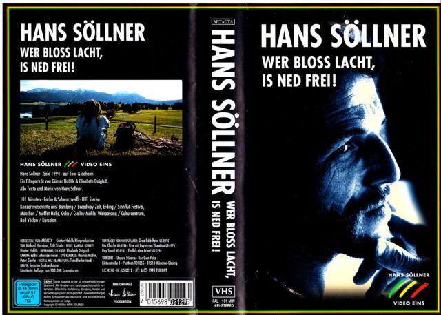 "VHS - "" Hans SÖLLNER - Wer bloss lacht, is ned frei ! """