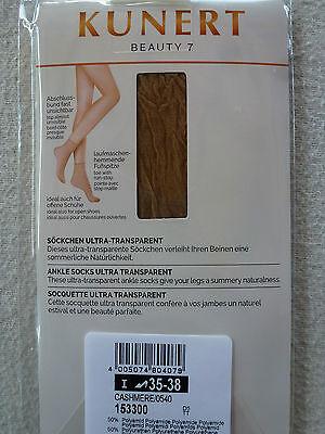 Kunert Mujer Calcetines bonito 7 Ideal También Para Abierta Zapatos 35-38 39-42