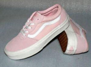 Details zu Vans Milton Z'S Suede Rau UP Leder Schuhe Boots Sneaker 31 Englich Rose IC245