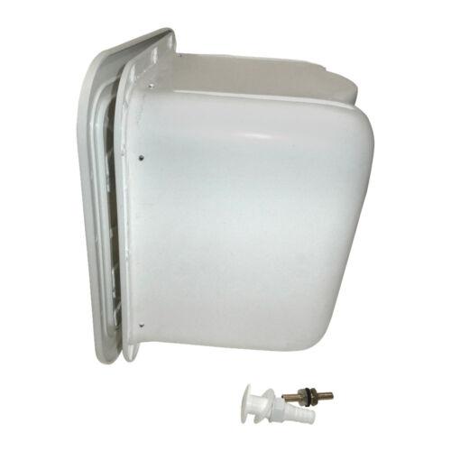 Gas Bottle Storage Locker With Vent Box White NEW Caravan Yacht Boat  BOX5