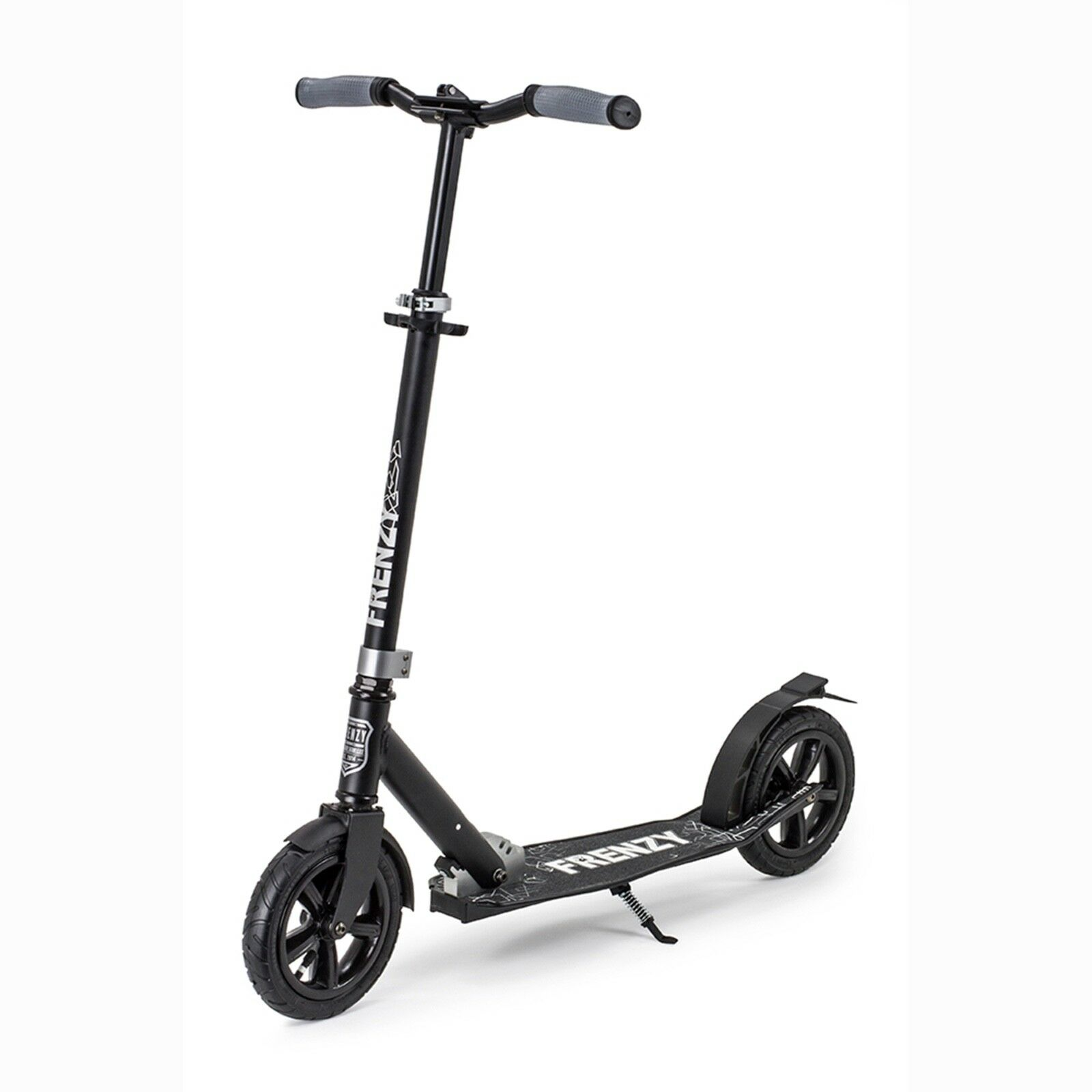 Frenzy Scooter Pneumatic Plus Ricreativi Scooter 205mm, Nero