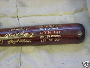 1967-hall-of-fame-brown-bat-Branch-Rickey-Lloyd-Waner-Red-Ruffing