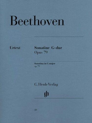79 Sheet Music A 051480059 25 in G Major Op Beethoven Piano Sonata Sonatina No