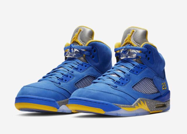 finest selection a12b0 37dd7 Nike Air Jordan Retro 5 Laney JSP Size 8-14 Varsity Royal Maize CD2720-400