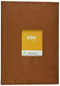 Golden-State-Art-Suede-Cover-Photo-Album-Holds-300-4x6-034-pictures-3-per-page