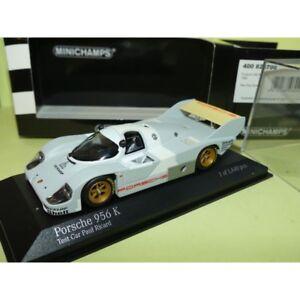 PORSCHE-956-K-TEST-CAR-PAUL-RICARD-1982-MINICHAMPS-1-43