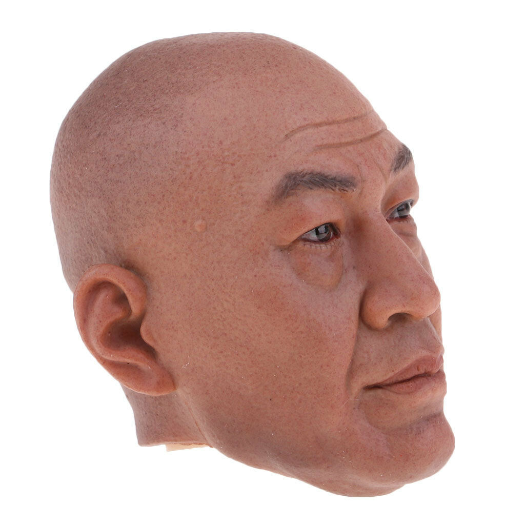 1 6 Scale Male Head Sculpture Model for 12'' Action Figure Soldier Hot Doll