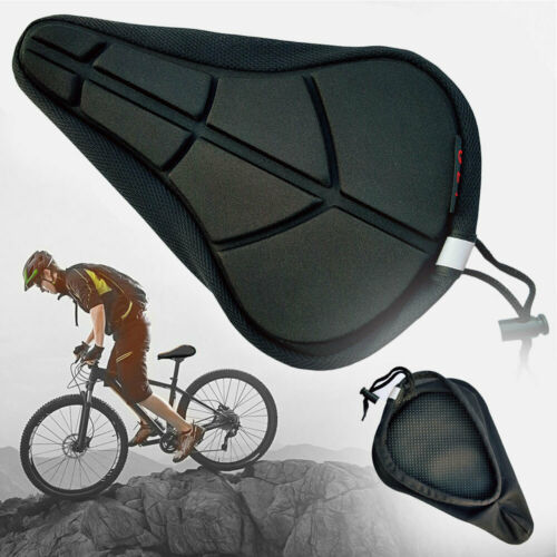 Bicycle Comfort Soft Gel Pad Cushion MTB Cycling Bike Saddle Seat Cover Durable