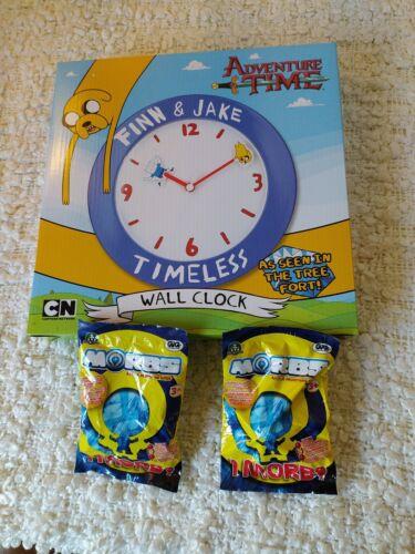 FINN /& JAKE PLUS FREEBIES. TIMELESS WALL CLOCK