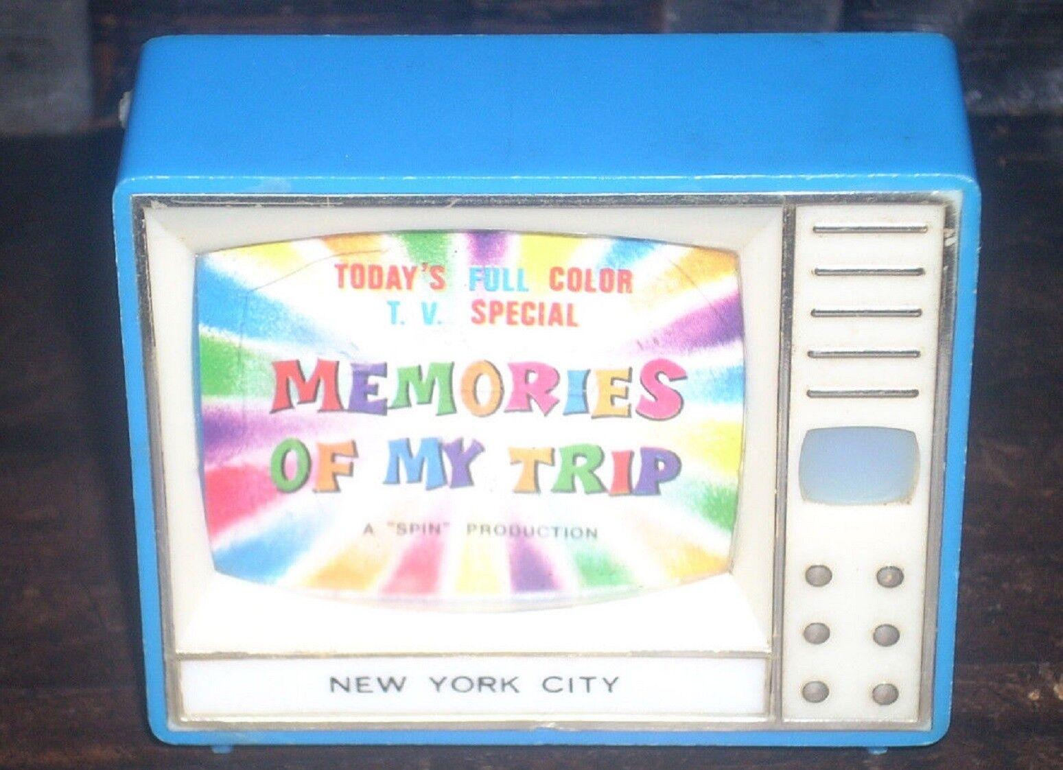 Alte erinnerungen meiner reise tv besondere farbe ny in new york city view-master dia
