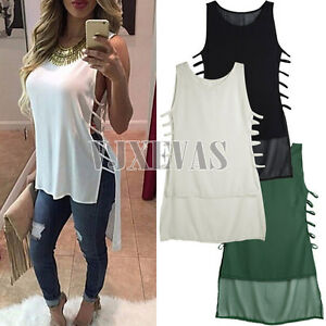 Fashion-Sexy-Womens-Summer-Vest-Top-Sleeveless-Blouse-Casual-Tank-Tops-T-Shirt