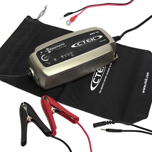 CTEK Chargeur Batterie 10 mxs10 Chargeur de batterie voiture bateau camping car