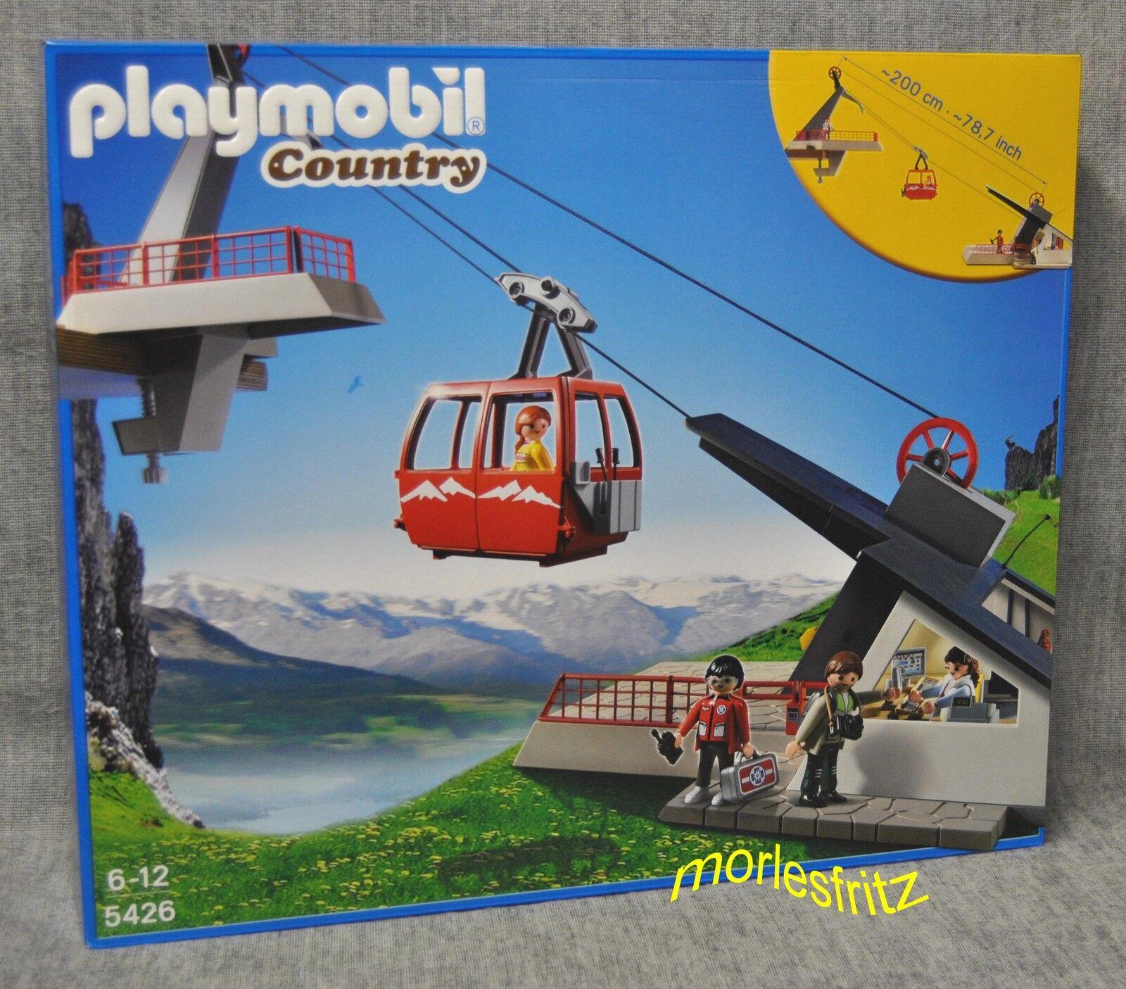 Playmobil 5426 Seilbahn mit Bergstation - Country - Neu