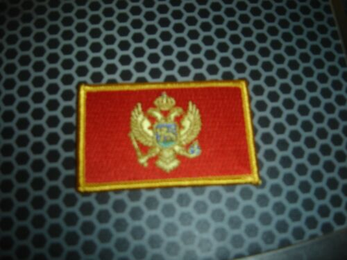 Montenegro Flag-Patch- 3 x 2