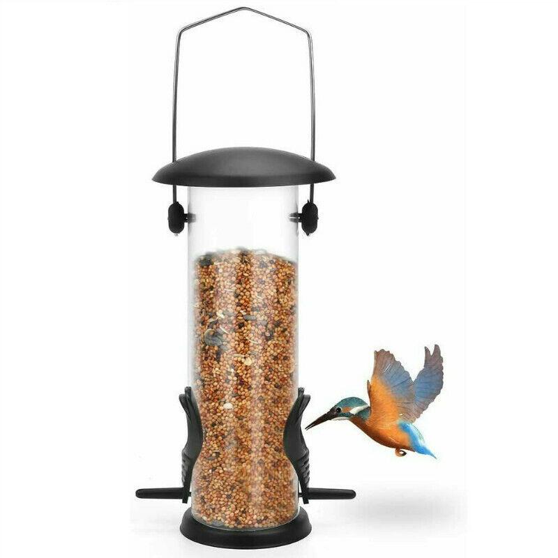 Bird Feeder Hanging Squirrel Stumper Squirrel Proof Food Seed Outdoor Garden