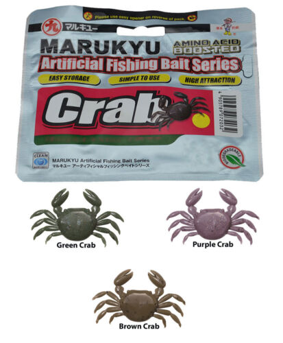 Marukyu Amino Acid Boosted Crab Size Medium Color Green