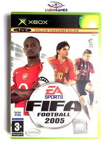 Fifa-Football-2005-Xbox-Nuevo-Precintado-Retro-Sealed-Brand-New-PAL-SPA