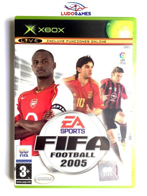 Fifa Football 2005 Xbox Nuevo Precintado Retro Sealed Brand New PAL\SPA