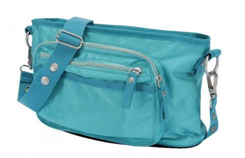 GEORGE GINA /& LUCY Nylon Baby Baby2stroll Tasche Wickeltasche Blau Blue Neu
