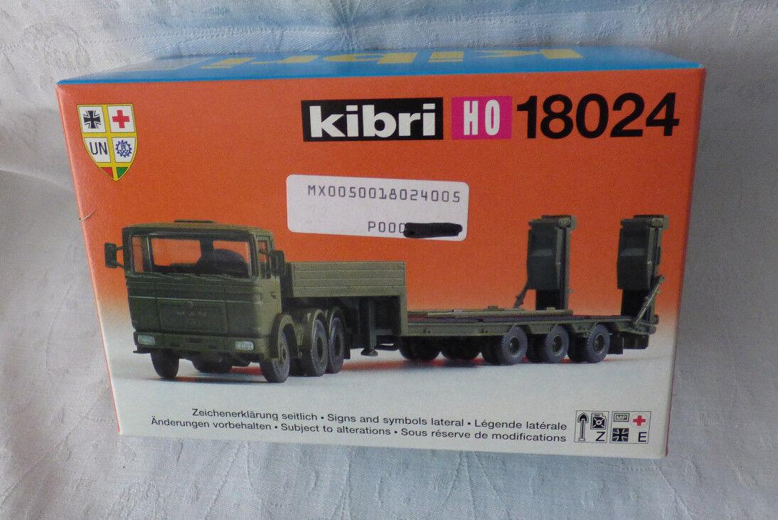 KIBRI 1  87-h0 -18024 - on avec tiefladeaufliege neuf dans sa boîte