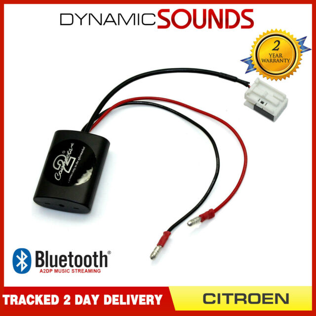 Connects2 CTACT1A2DP A2DP Bluetooth Streaming Interface Adaptor for Citroen