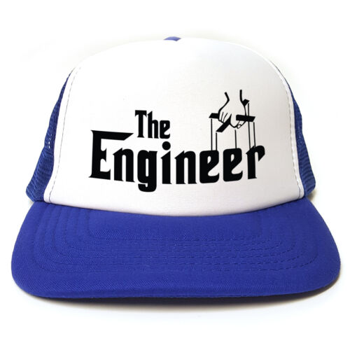 Snapback 3 Colours The Engineer Godfather Spoof Funny Retro Trucker Cap