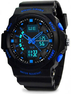 Kids-Digital-Analogue-Watches-Boys-5-ATM-Waterproof-Sports-Watch-with-Dual