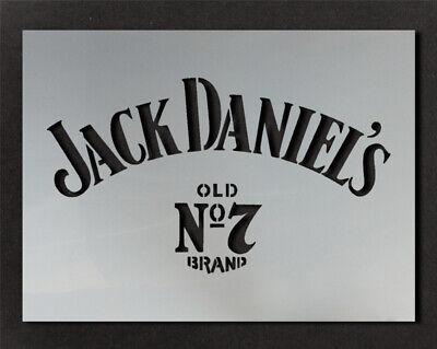 Jack Daniels Logo Stencil Wall Decor Art Craft Paint Ideal