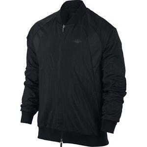 économiser 5e75c 4e961 Details about Men's Brand New Jordan Veste Wings Black Athletic Design Era  Jacket [843100 010]