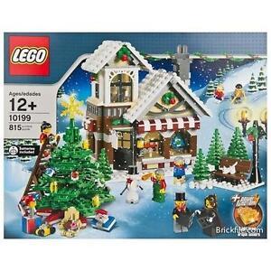 *BRAND NEW* LEGO Creator Winter Village TOY SHOP 10199 *Box has creases*