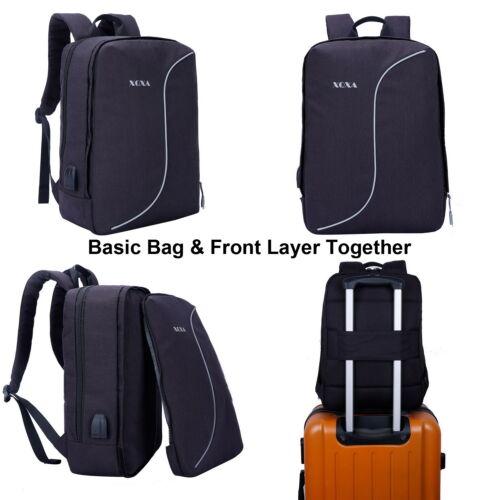 17 Inch Laptop Backpack Women Men Student Unisex School Bag For Business Travel