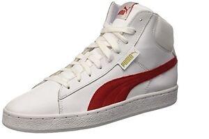 scarpe alte puma bianche
