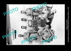 OLD-POSTCARD-SIZE-PHOTO-MAGAZZENO-ITALY-THE-AUSTRALIAN-RATS-OF-TOBRUK-1942