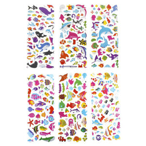 1Pc-3D-Puffy-Bubble-Sticker-Toys-Kids-Cartoon-Fish-3D-Stereo-Stickers-FETRFRF-ji