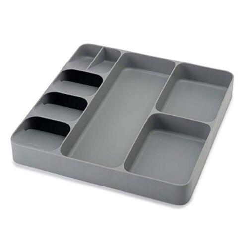 8-Slot Silverware Organizer Convenient Kitchen Drawer Fork Tableware Storage Box
