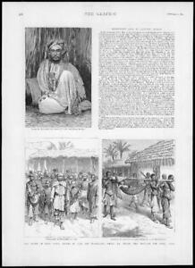 1893-Antique-Print-AFRICA-Emin-Pasha-Ujiji-Nyassaland-Swann-Tanganyika-178