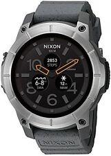 Nixon ''Mission'' Smartwatch, Grey Model: A1167-2101