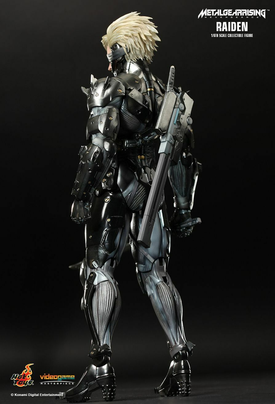 HOT TOYS 1/6 METAL METAL METAL GEAR RISING: REVENGEANCE VGM17 RAIDEN ACTION FIGURE 88623c