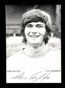 Hans-Walitza-Autogrammkarte-1-FC-Nuernberg-70er-Jahre-Original-Signiert-A-179937