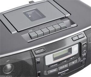 Panasonic-CD-Radio-Cassette-High-Power-Boombox-w-USB-Port-220-VOLT-OVERSEAS