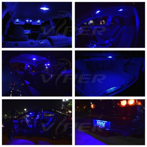 Blue LED Interior Lights Package Kit for 2003-2008 Infiniti FX35 FX45