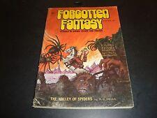 Forgotten Fantasy FEB 1971 Volume 1 Number 3 VG (5.0) Condition H.G. Wells