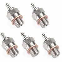 Traxxas 3232x Super Duty Medium Glow Plugs 5x Nitro Tmaxx Revo Jato 4tec 3.3 2.5