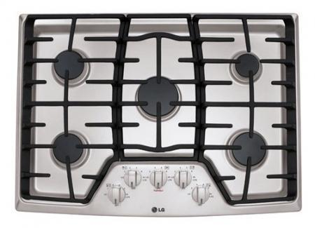 New LG LCG3011S 30 inches Gas Cooktop