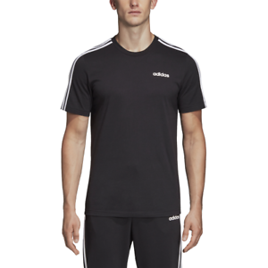 Details about Adidas Men Tshirt Running Essentials 3 Stripes Tee Training Fashion DQ3113 Black